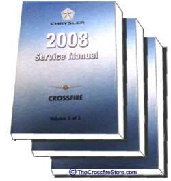 crossfire 2004 2007 service repair manual